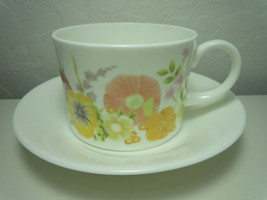 Wedgwood Summer Bouquet Cup and Saucer Set - $6.72