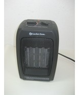 Comfort Zone Portable Ceramic Space Heater Model CZ442WM 1500 Watts - $16.79
