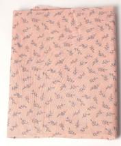 Vintage 100% Cotton Quilt Fabric USA  Bud & Stem Pattern - $4.59