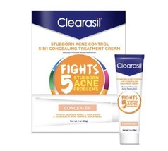Clearasil Stubborn Acne Control 5 In 1 Concealing Treatment - $11.29