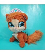 Disney Palace Pets Plush Ariel's Kitten The Little Mermaid Orange Stuffe... - $15.83