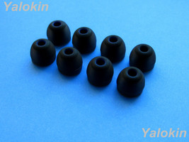 NEW 8pcs Medium (BK) Replacement Comfort Adapters Ear-buds for Jaybird X3 - $12.39