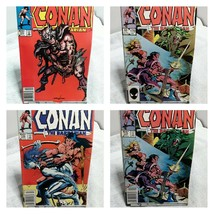 Marval Conan The Barbarian Comic Book Lot of 4 Issues Lot C - $7.69