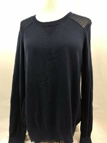 Primary image for Two by Vince Camuto Navy Long Sleeve Pullover Sweater, Women's Size M