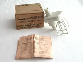 Vintage Moulinex La Machine Ii LM2 & LM3 Only Food Processor Egg Beaters 612 - $9.99