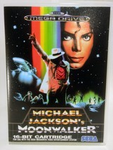 Michael Jackson's Moonwalker (EU ver)- Sega Genesis - Replacement Case - No Game - $6.89