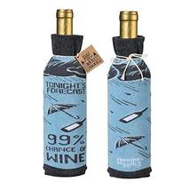 2pc Wine Bottle Knit Gift Bag Wine Cover Wine Lovers Wine Gift Wrap Cove... - $14.84