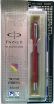 Parker Vector Standard Roller Ball Pen  Body Color Red - $13.08