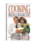 COOKING WITH REGIS & KATHIE LEE (1993) PIX Like New! 1ed Hardcover w/Dus... - $9.99