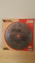 """New Vermont American Fire-Tooth 7 1/4"""" Plywood Saw Blade 150 Teeth #25670 - $9.46"""