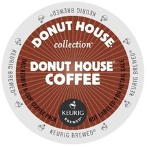 Donut House Donut Coffee, 72 K cups, FREE SHIPPING  - $49.54
