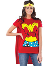 Rubie's Adult Womens DC Justice League Wonder Woman T-Shirt Costume Top - L - $30.00