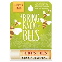 Burt's Bees Save the Bees Coconut & Pear Lip Balm 0.15 oz - $4.88
