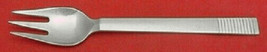 "Parallel by Georg Jensen Sterling Silver Fish Fork 3-Tine 6 3/8"" Silverware - $229.00"