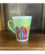 Vintage Lindy Bowman Company Christmas 16 oz. Coffee Mug Or Tea Cup Snow... - $11.84