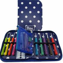 BEST CROCHET HOOK SET WITH ERGONOMIC HANDLES FOR EXTREME COMFORT. Perfec... - $46.66 CAD
