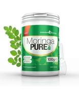Moringa Pure 100% Pure Organic Powder 100g Tub 100g with Scoop - $12.99