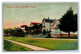 Vintage Early 1900's Residence Street Astoria Oregon POSTED - $15.81