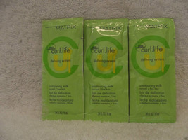 MATRIX CURL.LIFE Contouring Milk for Fine / Limp Hair~ .34 oz ~LOT of 3 ... - $5.85