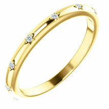 (G-H, SI2-SI3) Diamond Eternity Band In 14K Yellow Gold - $346.49