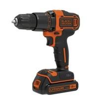 Black & Decker BCD700S1K 18V 2 Gear Hammer Drill + Kitbox - $83.59