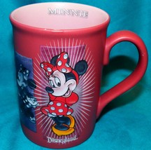 Disneyland Resort Walt Disney Parks Minnie Mouse Emotions Coffee Mug Cup... - $29.99