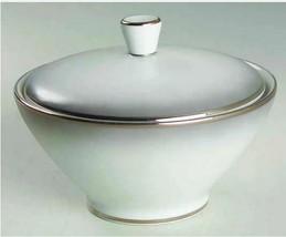 "Rosenthal Elegance Platinum Trim Creamer, 3 1/4"" & Sugar Bowl, 2 1/4"" wi... - $25.23"