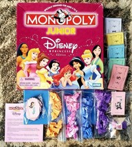 2004 Monopoly Junior Disney Princess Edition Choose From 8 Princesses Co... - $11.87