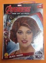 Avengers Marvel Age of Ultron Black Widow Wig Rubies 52496 NIB - $192,55 MXN