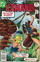 Kamandi, The Last Boy On Earth Comic Book #53 DC Comics 1977 VERY FINE- - $8.33