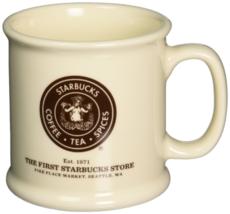 Starbucks Pike Place White Coffee Mug with Original Logo Brand NEW IN BOX - €81,55 EUR