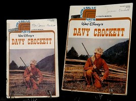 Walt Disney's Davy Crockett A Youth Musical and Teachers Handbook AA20-2268 Vint