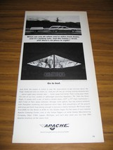1964 Print Ad Apache Silver Eagle Tent Camping Trailers Vesely Lapeer,MI - $10.87