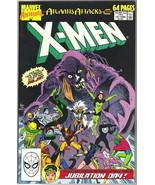 The Uncanny X-Men Annual! Comic Book #13 Marvel 1989 VERY FINE/NEAR MINT... - $3.99