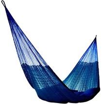 Hammocks Rada: Handmade Yucatan Hammock - Matrimonial Size Dark Blue Col... - $67.53