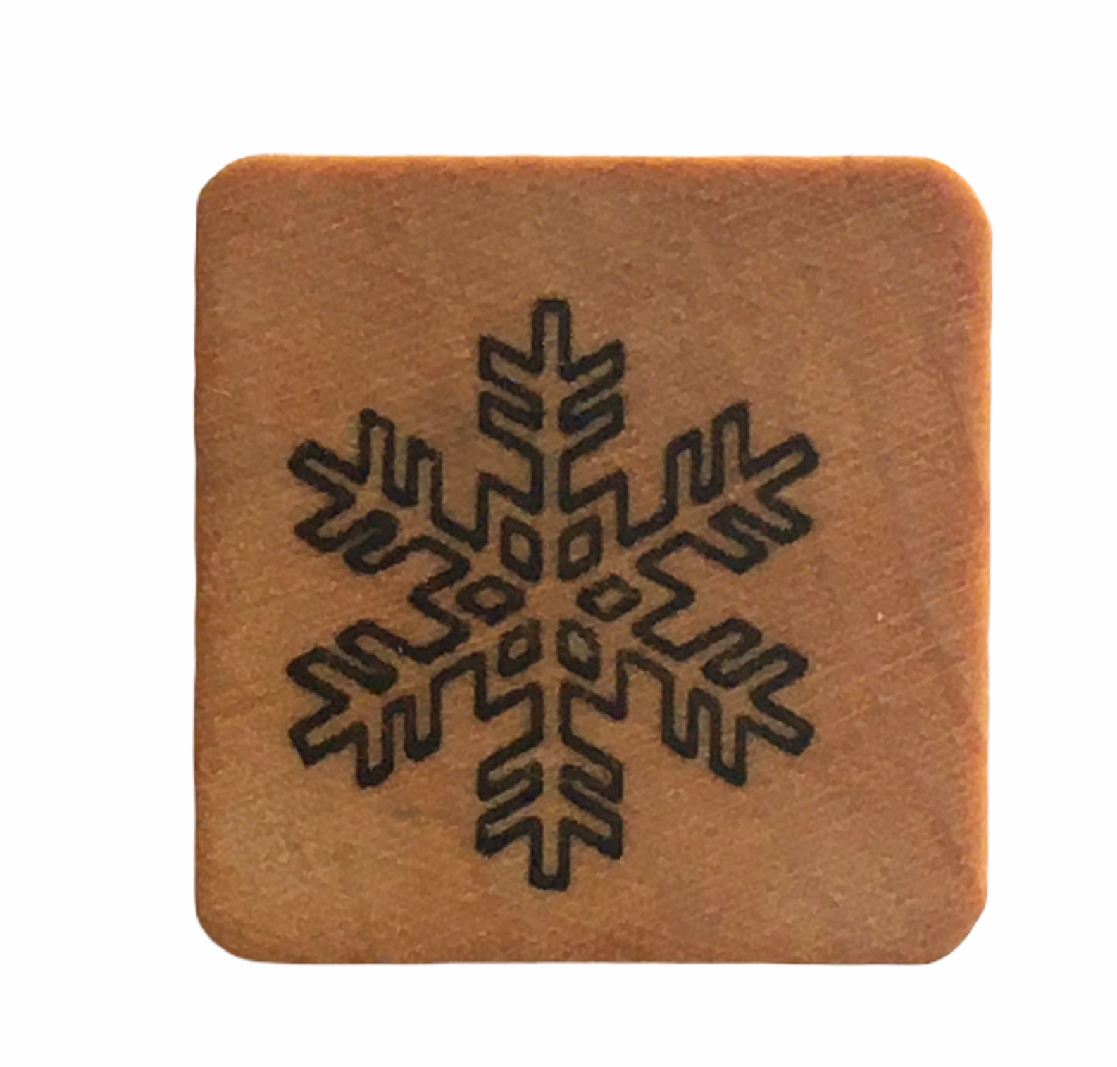 Comotion Rubber Stamp Snowflake Snow Winter Holidays Christmas Card Making Art - $3.00