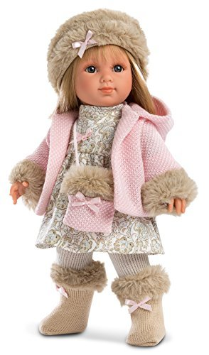 "Llorens Spanish Doll Paris 14"" Fashion Doll (Paris (blonde girl))"