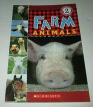 Scholastic Reader Level 2 : Farm Animals - $2.00