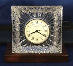 Waterford Crystal Desk or Mantle Clock - $24.74