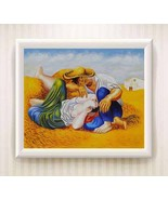 PABLO PICASSO Sleeping Peasants Oil Painting Canvas Print/Modern Art Deco - $11.32