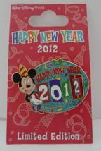 Walt Disney World Mickey Mouse Happy New Year 2012 LE Pin - $29.95