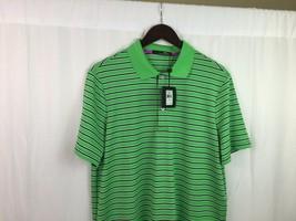 RLX Ralph Lauren Golf Polo Shirt  green/white/navy  Striped NEW! $89.50 ... - $37.39
