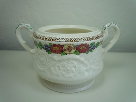 Wedgwood Windermere Multicolor Sugar Bowl NO Lid - $19.76