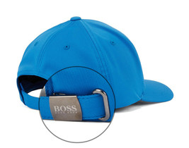 Hugo Boss Men's Premium Double Twill Hat Cap With Curved Logo Embroidery image 2
