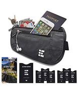 Zero Grid Money Belt w/RFID Blocking - Concealed Travel Wallet & Passpor... - $39.11
