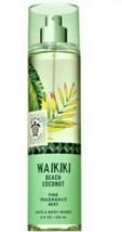 Bath & Body Works Waikiki Beach Coconut Fragrance Mist ~ 8 oz ~ Ships Fr... - $12.19