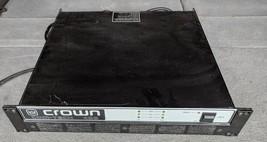 JO Crown Com-Tech 400 Series Rackmount 2 Channel Stereo Power Amplifier ... - $70.11