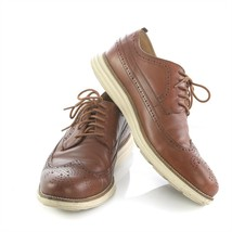 COLE HAAN Size 9.5 Brown Leather Cap Toe and 50 similar items