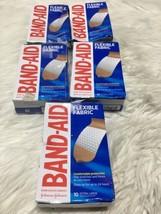5 Band-Aid Flexible Fabric 10 Extra Large Size TDW9 - $13.09