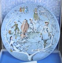 Lot of 6 Haviland Limoges Twelve Days of Christmas Plates - $72.00